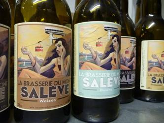 Bière Mademoiselle Aramis du Mont Salève